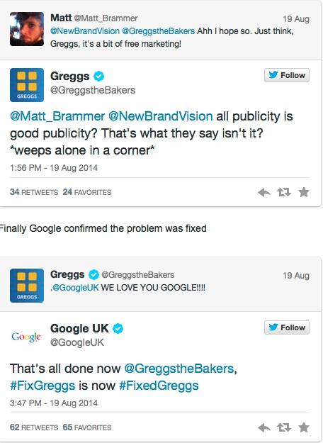 Greggs social media win