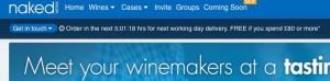 Naked Wine timer